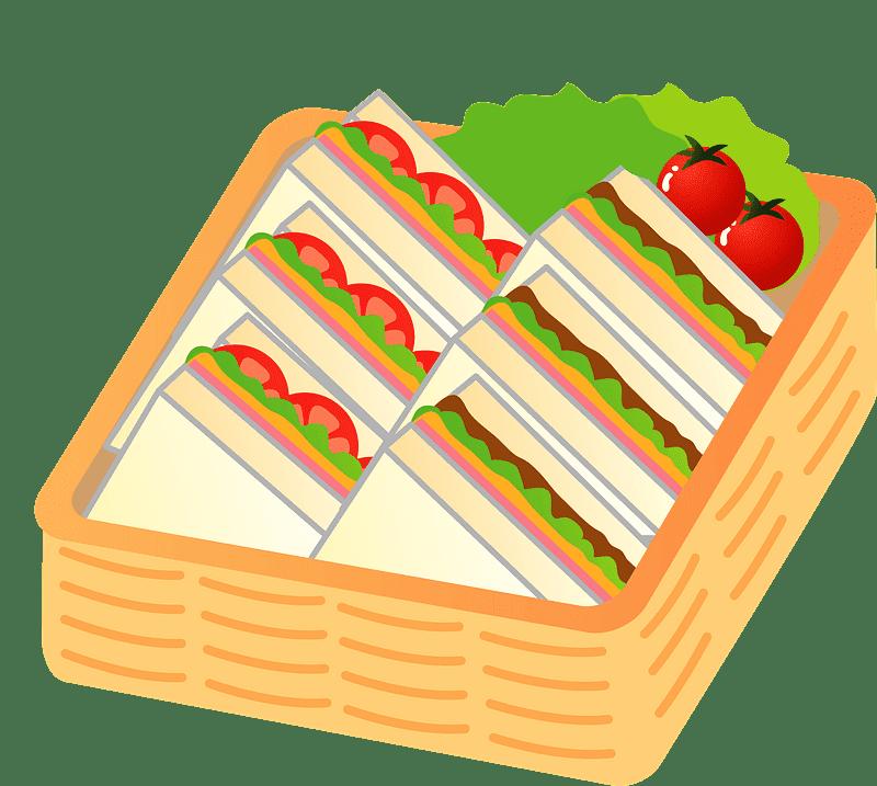 Sandwich clipart transparent 12