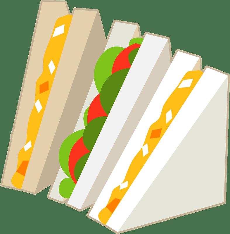 Sandwich clipart transparent 13