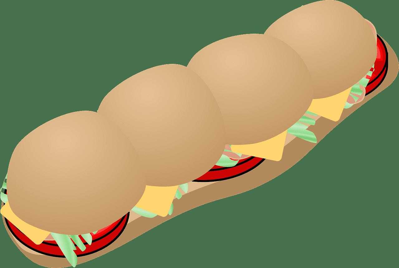 Sandwich clipart transparent 14