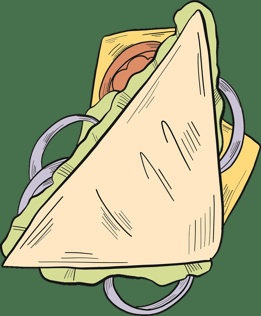 Sandwich clipart transparent 3