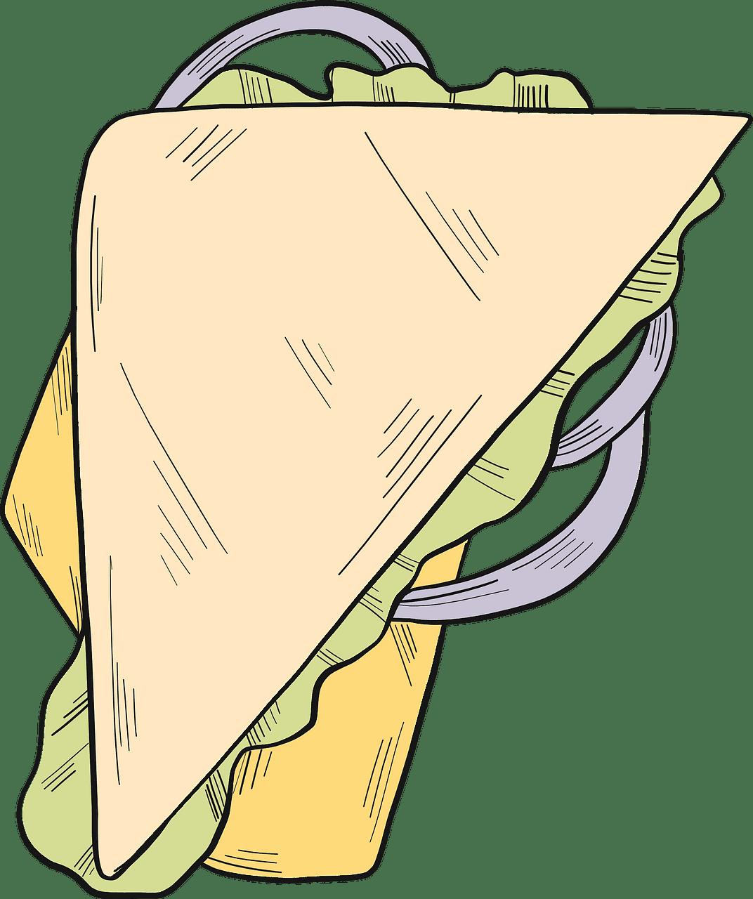 Sandwich clipart transparent 4