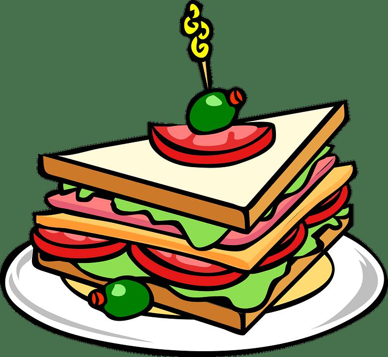 Sandwich clipart transparent 5