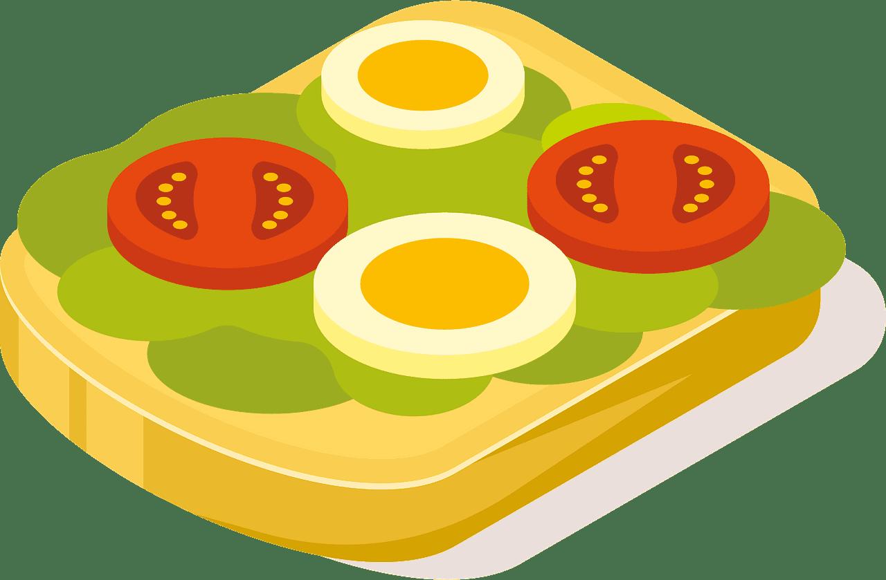 Sandwich clipart transparent 8