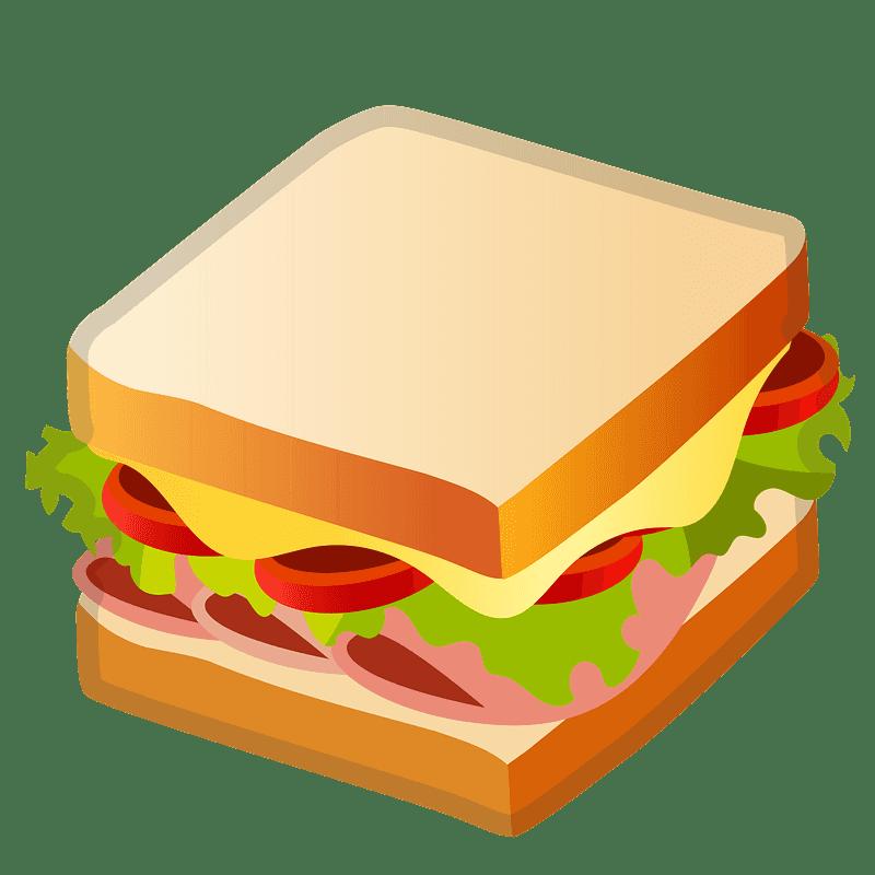 Sandwich clipart transparent 9