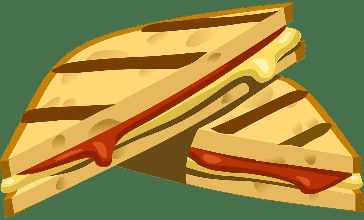 Sandwich clipart transparent background 4