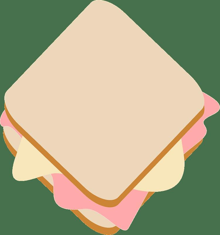 Sandwich clipart transparent background 5
