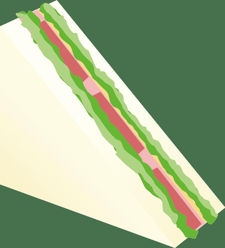 Sandwich clipart transparent background 6
