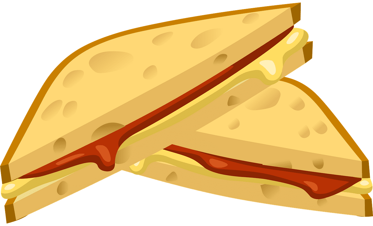 Sandwich clipart transparent background 9