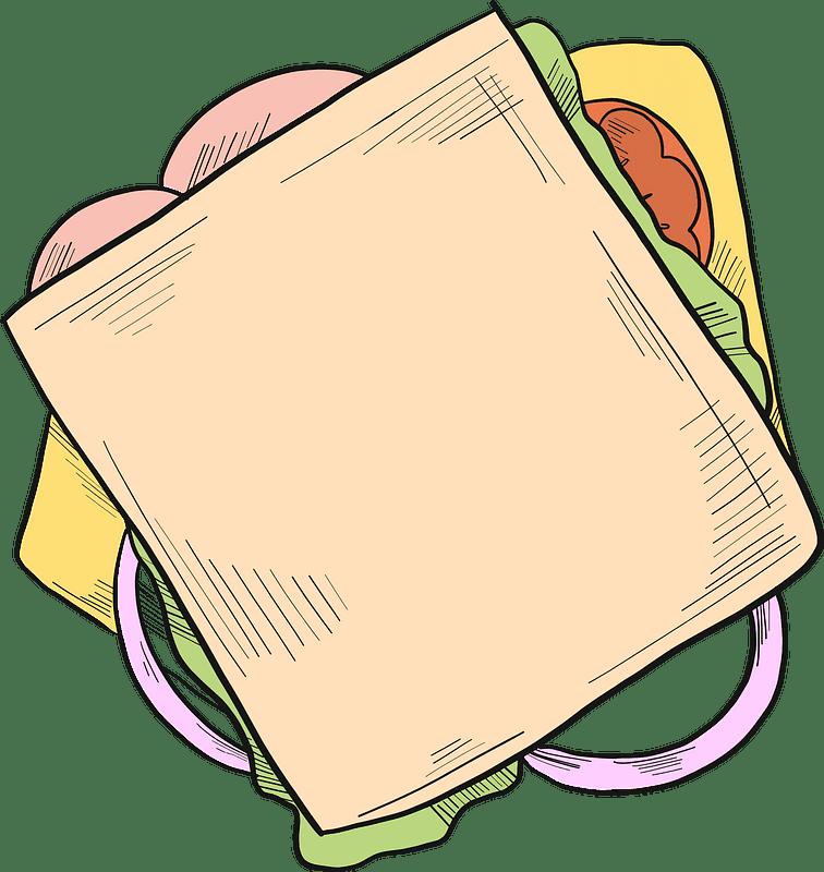 Sandwich clipart transparent picture