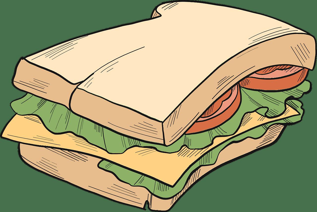 Sandwich clipart transparent png
