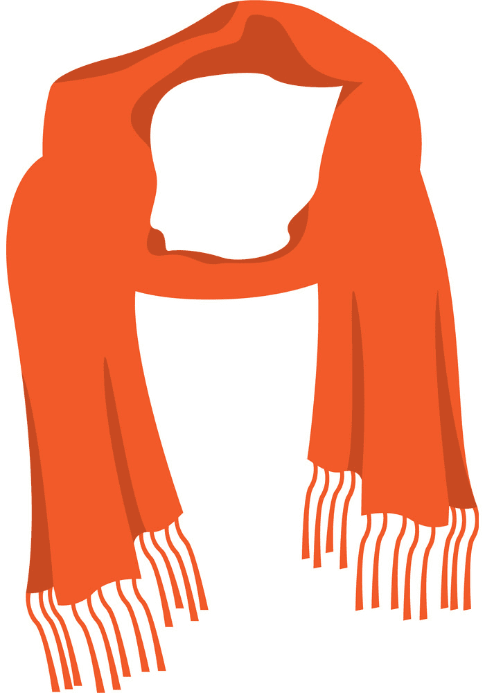 Scarf clipart for free