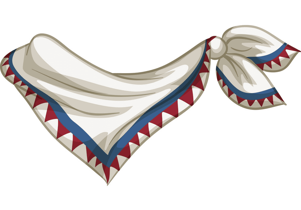 Scarf clipart for kids