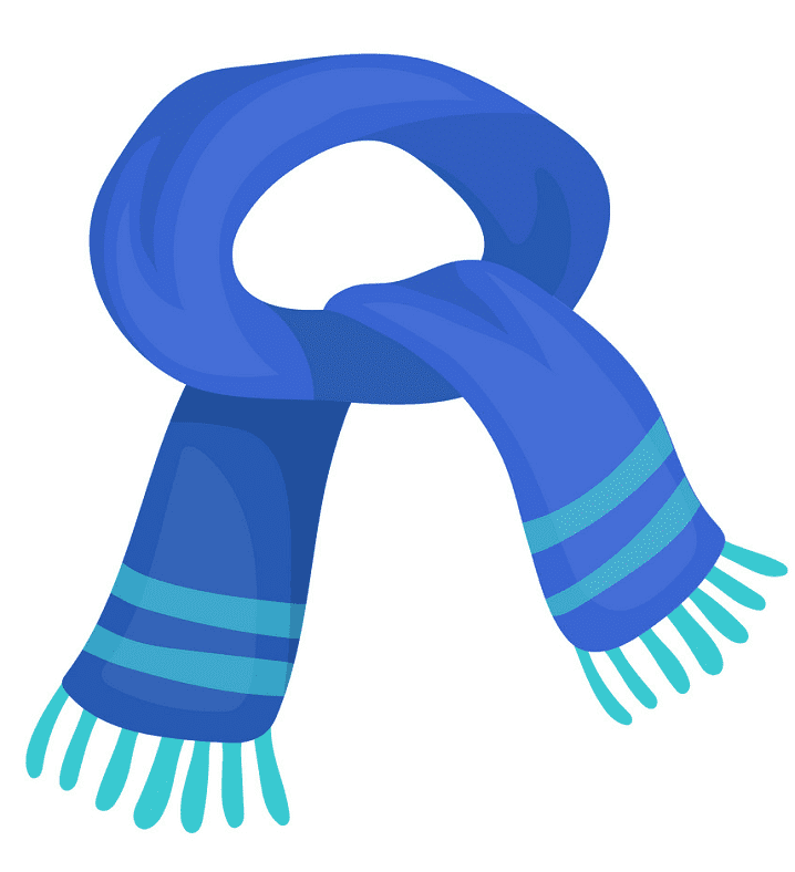 Scarf clipart free