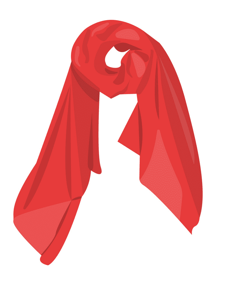Scarf clipart image