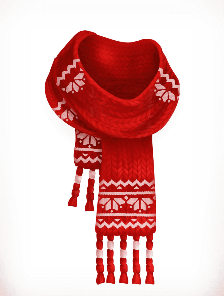 Scarf clipart picture