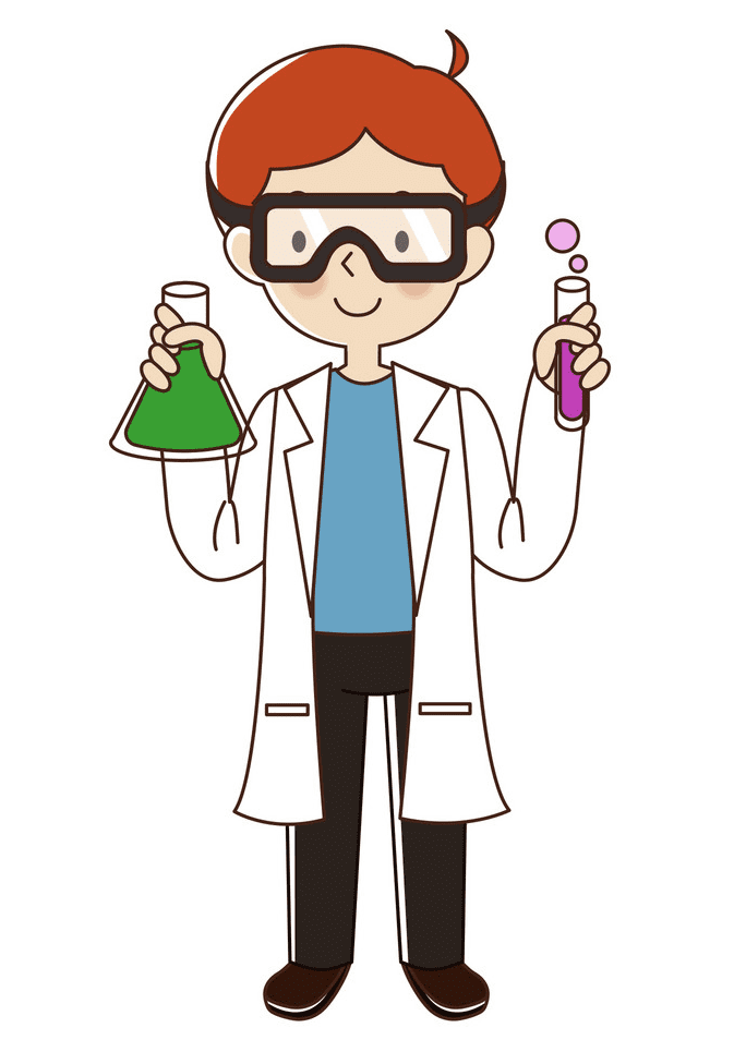 Scientist clipart free