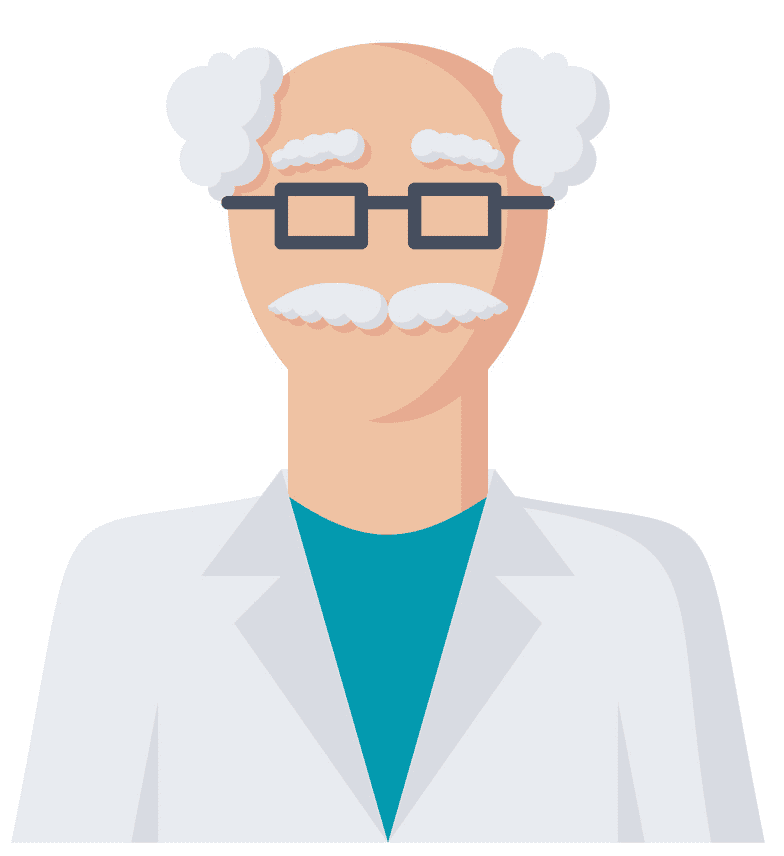 Scientist clipart picture