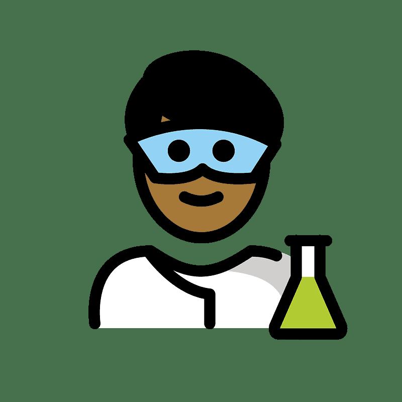Scientist clipart transparent 3