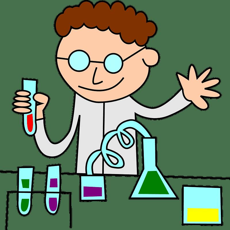 Scientist clipart transparent 7