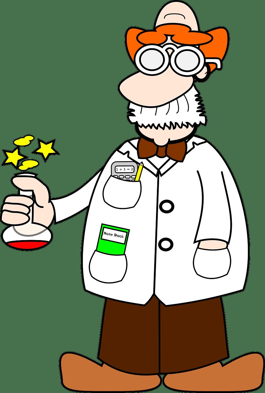 Scientist clipart transparent 8