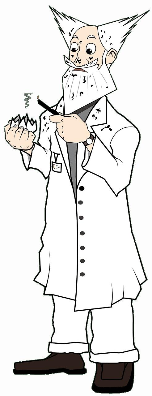 Scientist clipart transparent 9