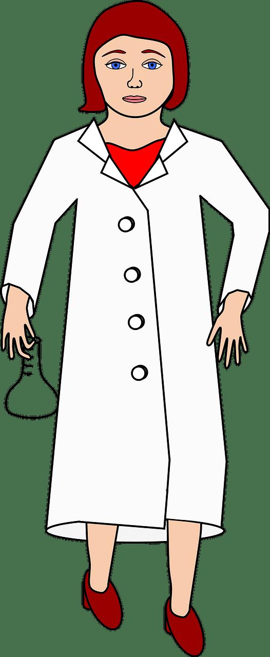 Scientist clipart transparent background 1
