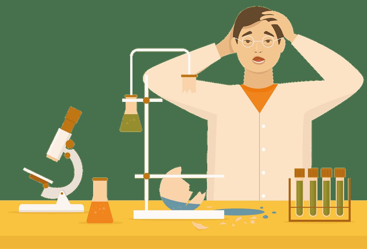 Scientist clipart transparent background 2