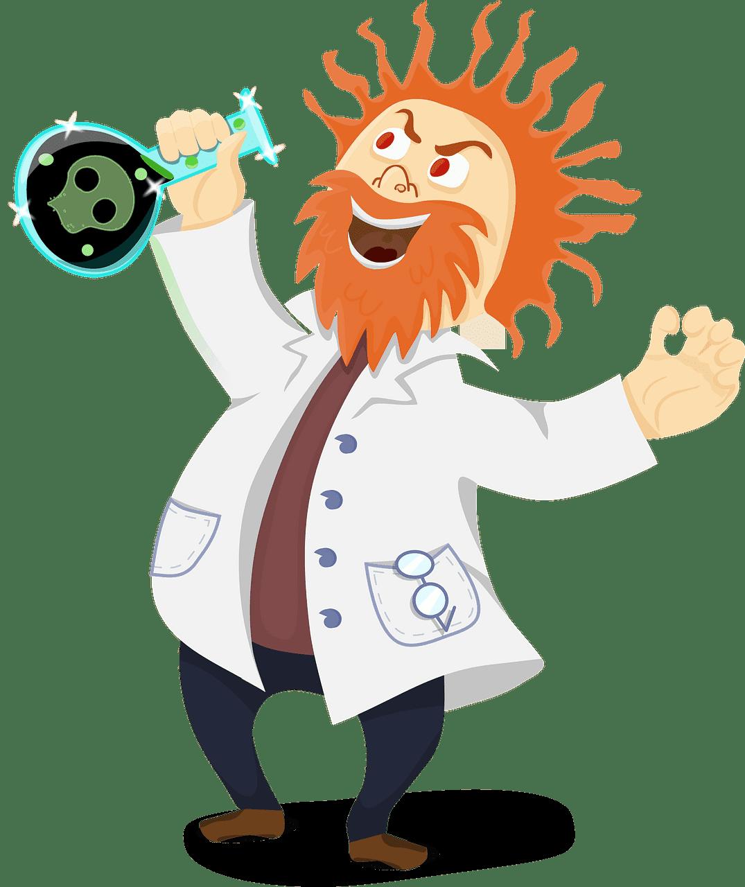 Scientist clipart transparent background 5
