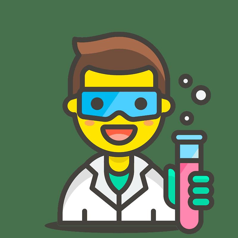 Scientist clipart transparent background 7