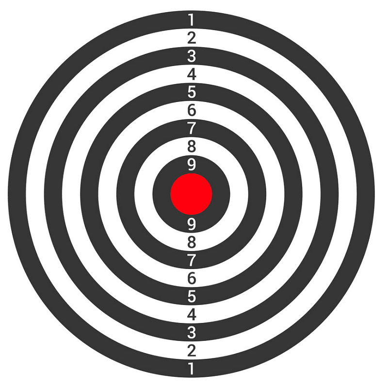 Shooting Target clipart for free
