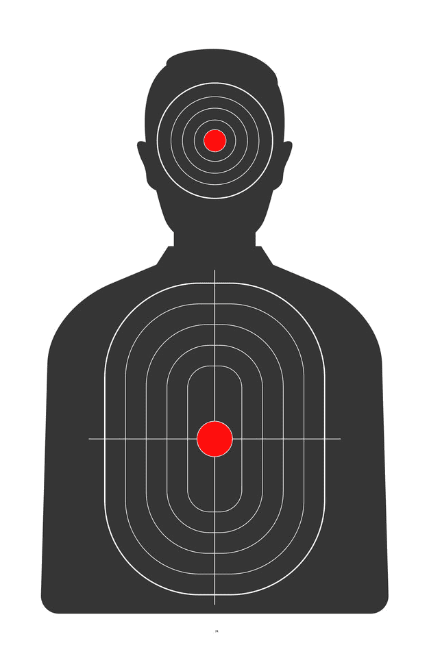 Shooting Target clipart for kid