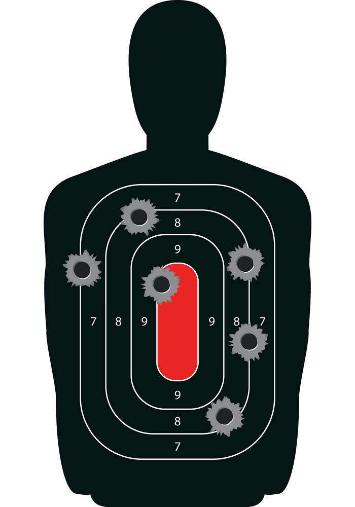 Shooting Target clipart free picture
