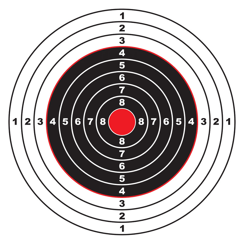 Shooting Target clipart free