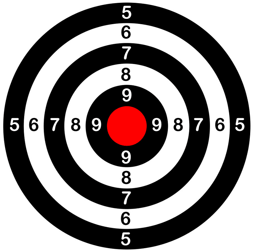 Shooting Target clipart image