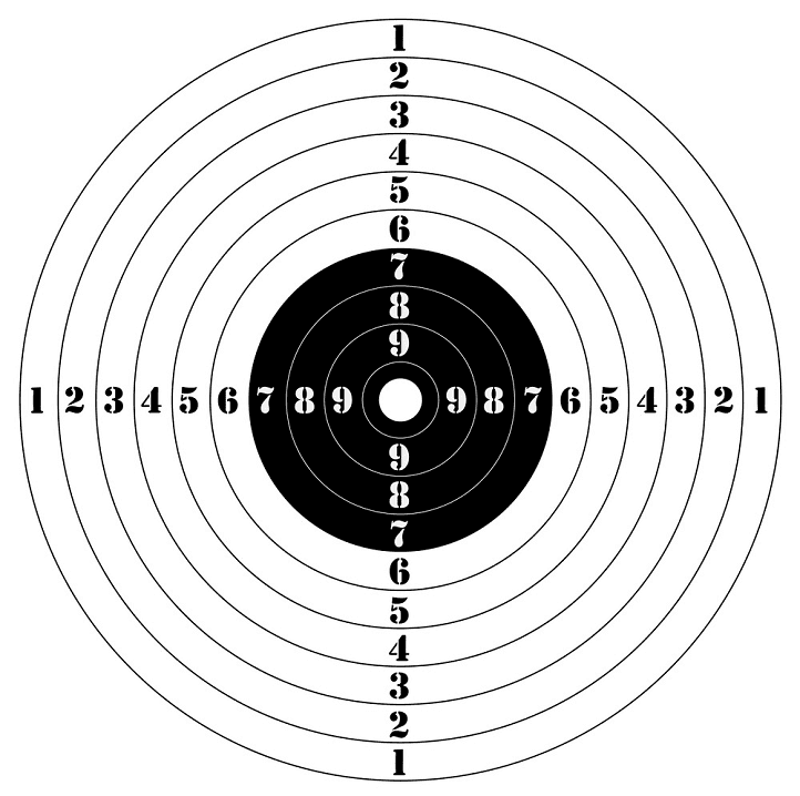 Shooting Target clipart images