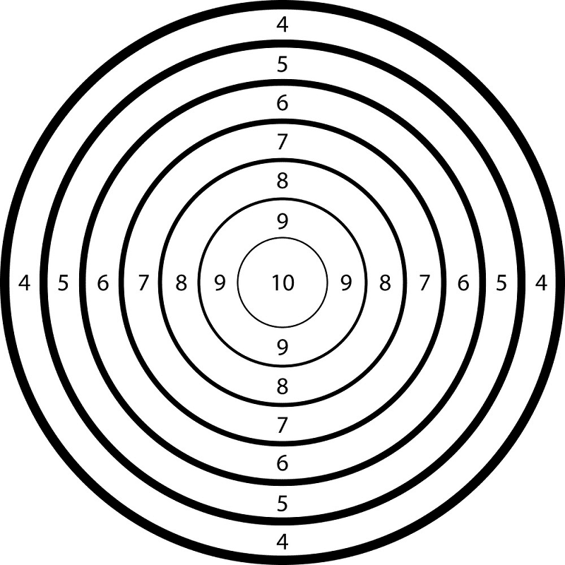 Shooting Target clipart picture