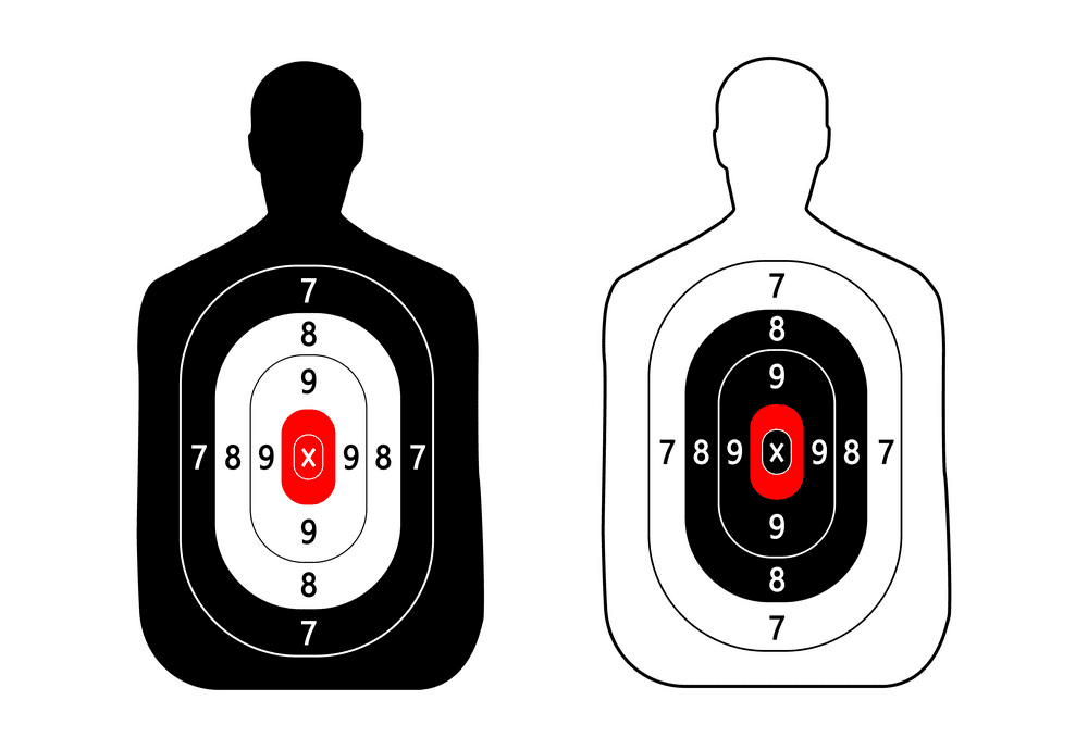Shooting Target clipart png image