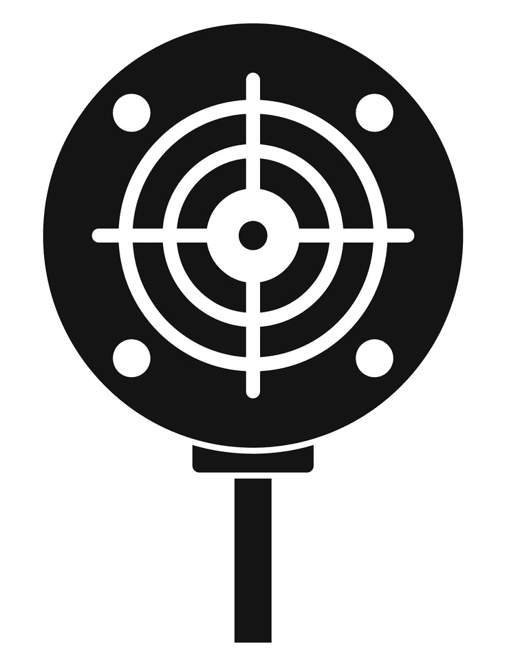 Shooting Target clipart png images