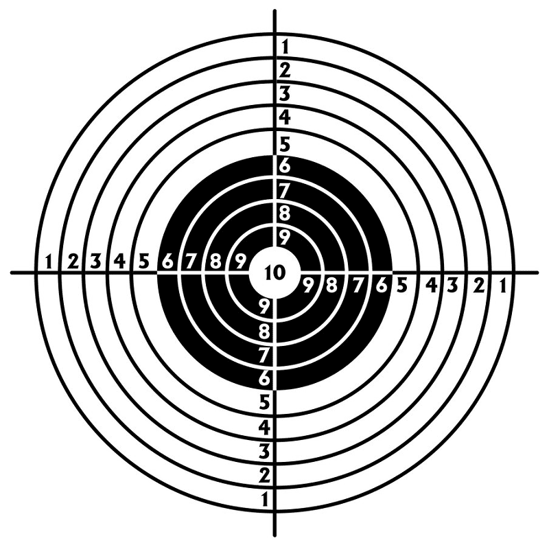 Shooting Target clipart png picture