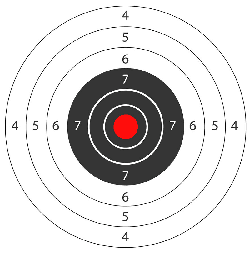 Shooting Target clipart png