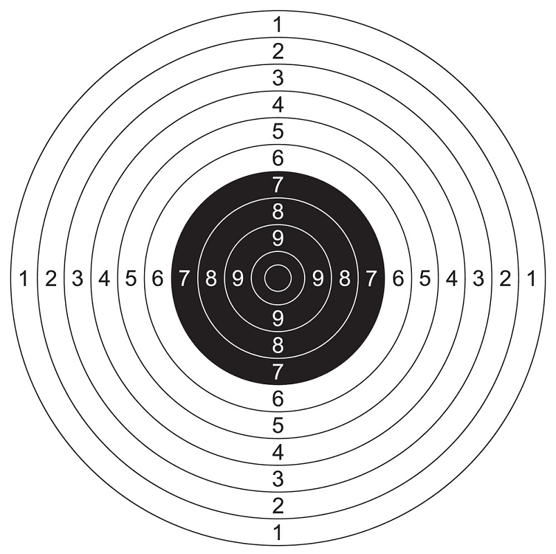 Shooting Target clipart