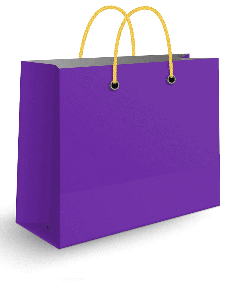 Shopping Bag clipart free image