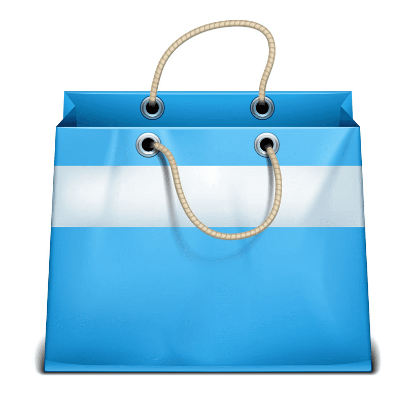 Shopping Bag clipart free picture