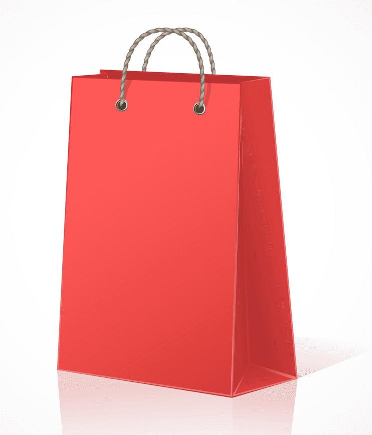 Shopping Bag clipart free