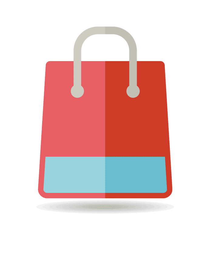 Shopping Bag clipart png for kids