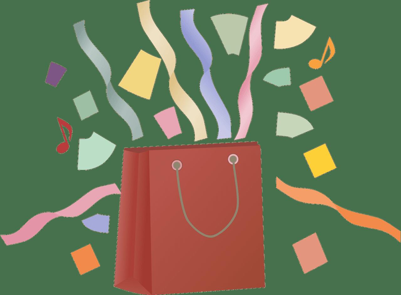 Shopping Bag clipart transparent 3