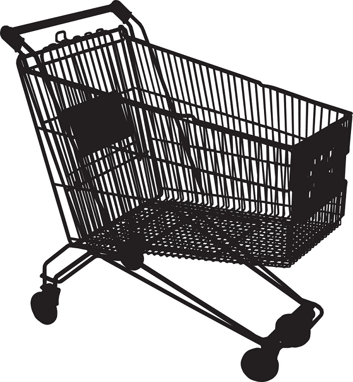 Shopping Cart clipart free download