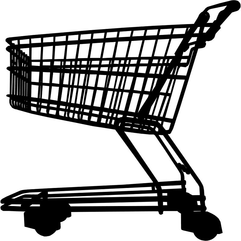 Shopping Cart clipart free image