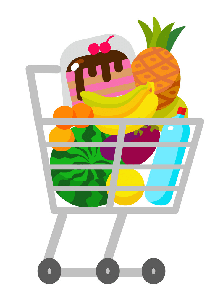Shopping Cart clipart free picture