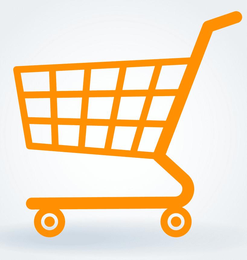 Shopping Cart clipart free